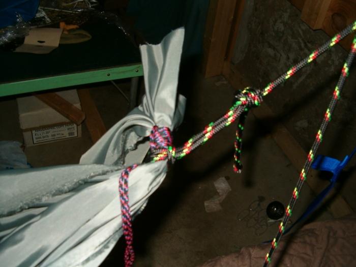 first homemade hammock attempt