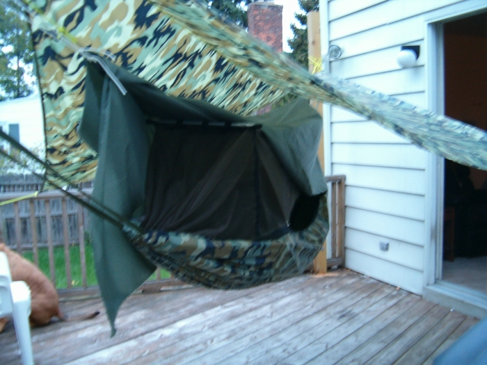 i u0027m going to have a seamstress hem all four edges  then i u0027ll use velcro to attach the bottom edges to the sides of the hammock and to close the ends up  my plans for weather shield for claytor  rh   hammockforums