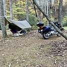 Late October Motorcycle camping
