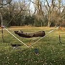 Tensa stand with ridge runner hammock 2