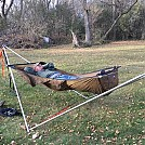Tensa stand with ridge runner hammock 3 by Ridewest in Hammocks