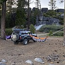 Hanging somewhere in the Sierras