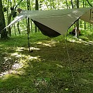 Go! Outfitters Tarp/Ducthware Netless w/ Fronkey