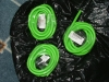 Green Rubber Latex Tubing