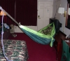 Hanging A Hammock In A Hotel Room