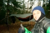 Hanging on Sonju Lake MN on Superior Hiking Trail by Shug in Hammock Landscapes