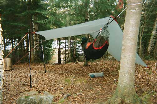 Hanging on Sonju Lake MN on Superior Hiking Trail