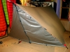 End Flaps on BlackCat Tarp by Shug in Homemade gear
