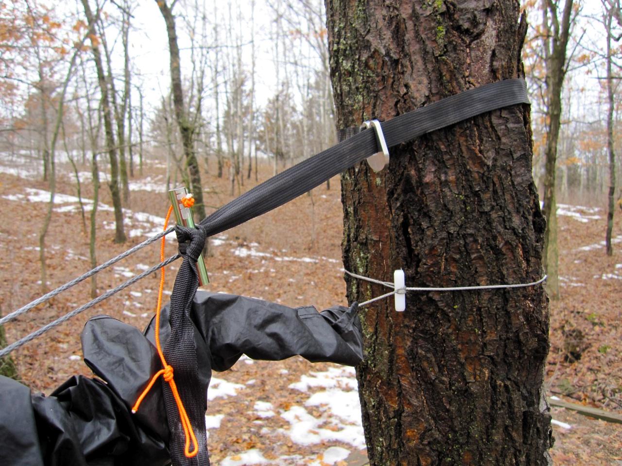 Tree Hugger, Marlin-spike, Toggle (slurpee Straw), Whoopie Sling