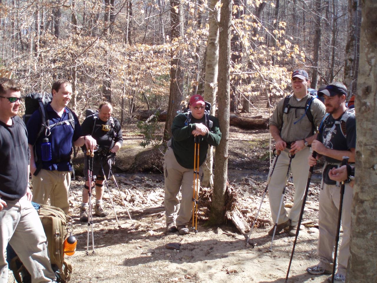 Pinhoti Hike 2/19-2/21/2010