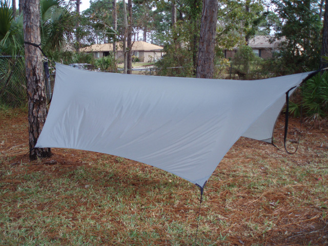 Stoikurt's 1st Tarp - Side View