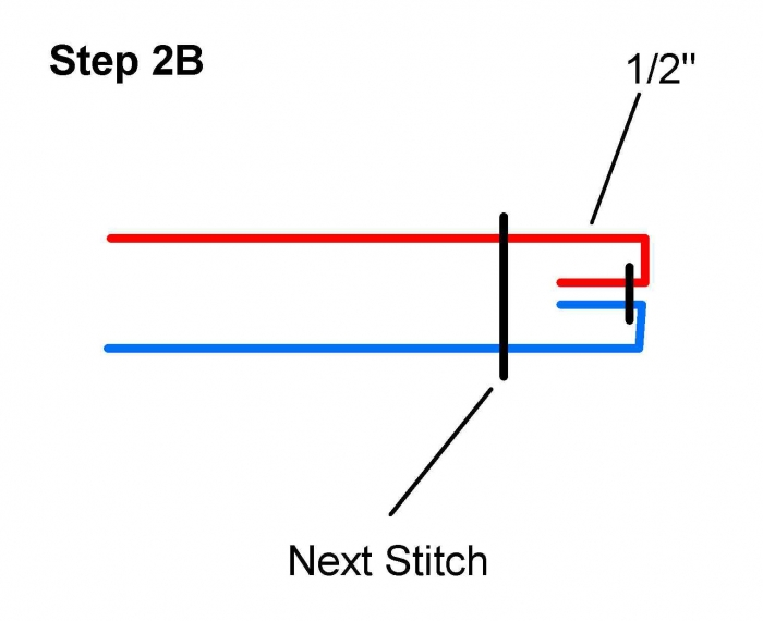 Hammock Quilt / Poncho Step2b