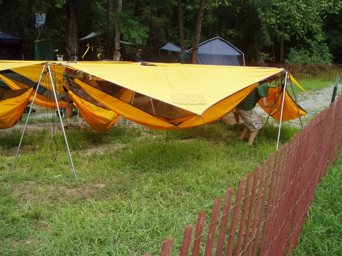 Hennessy Hammocks At The 2005 Jamboree