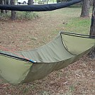 Olive Green Bridge Hammock with Dutch Speed Hooks