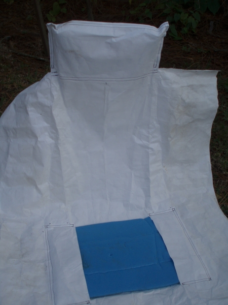 Tyvek Groundcloth / Jerry Chair
