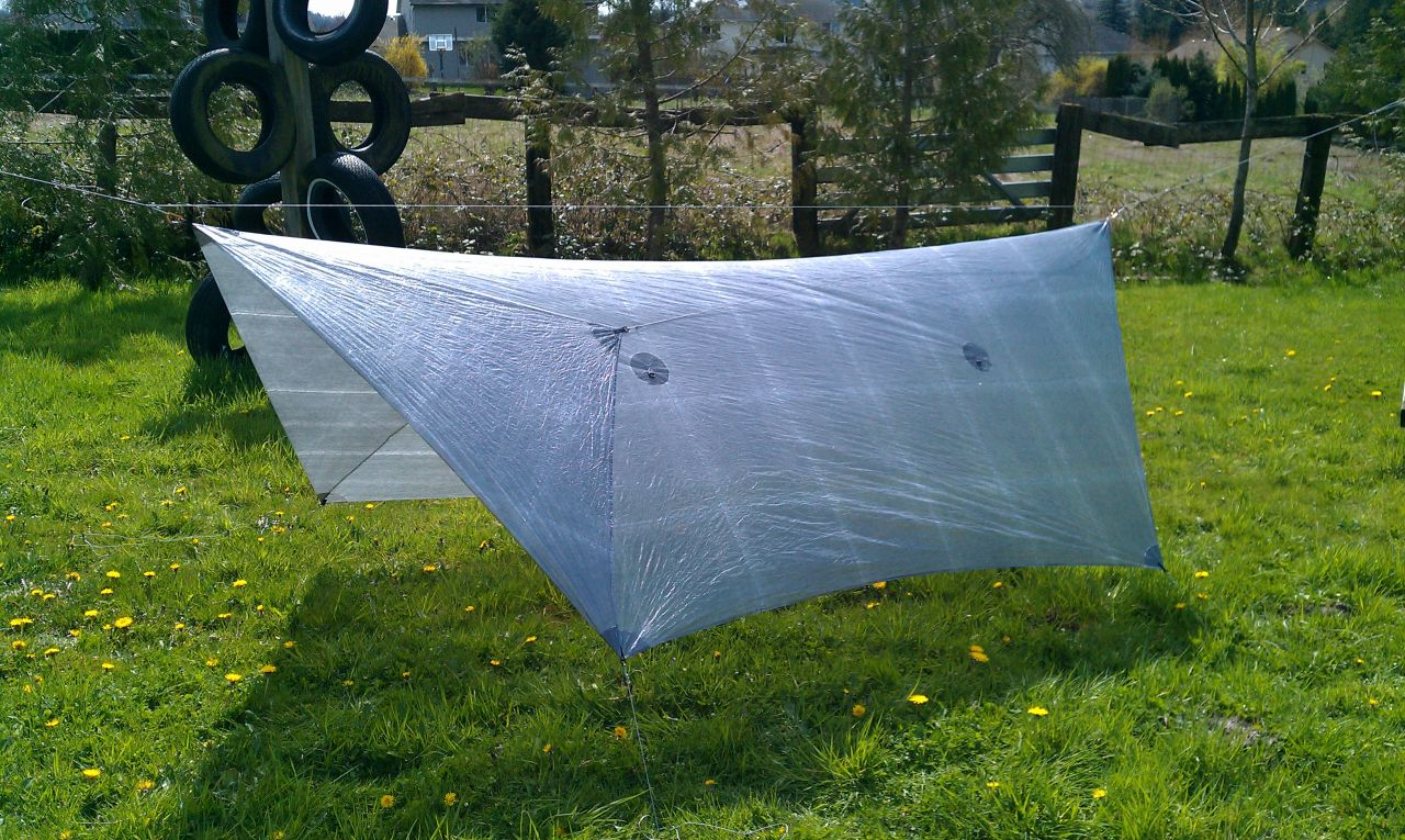 Hg 4s 3-sided Cuben Tarp