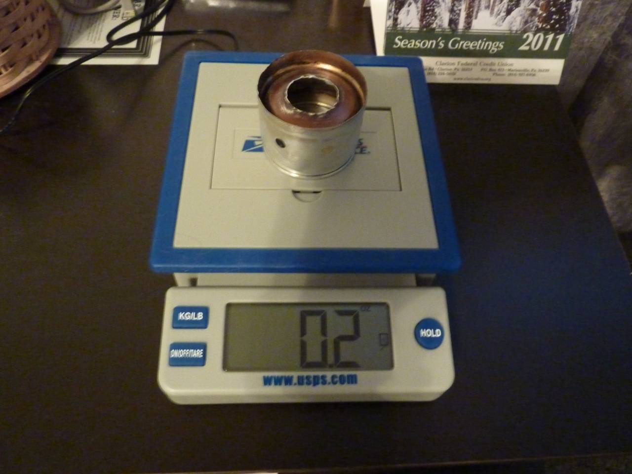 Rb Stove On Scale