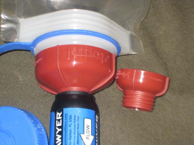 Sawyer Squeeze Adapter