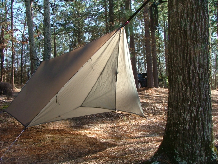 Hh Silnyl Hex Tarp With Doors
