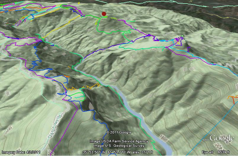 3d Topo For Google Earth