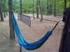 Eureka Gear Loft With Eno Hammock. Guardian Bug Net Removed